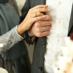 A wedding ring is a ring that the bride and groom give each other when they are married. They must be worn on the ring finger as a token of publicly announcing the marriage covenant. Couple Photography, Photography Poses, Wedding Photography, Cute Muslim Couples, Cute Couples, On Your Wedding Day, Dream Wedding, Wedding Scene, Wedding Ring