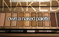 own a naked palette