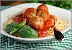 Beef Recipes : Beef & Ricotta Meatballs Recipe