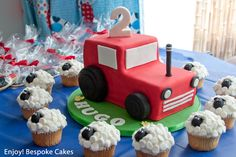 Farmyard Party by Enjoy! Bespoke Cakes