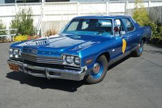 1975 Dodge Monaco Kansas Highway Patrol car. I love the big Dodge cruisers from the 70s. They remind me of The Bules Brothers and Dukes of Hazzard.