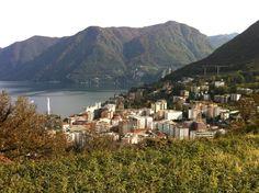 View over Lugano Lugano, Dolores Park, Places, Travel, Viajes, Trips, Traveling, Tourism, Lugares