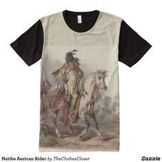 Natibe Aerican Rider All-Over-Print Shirt