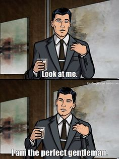 Archer...Chad is the lead 3D background artist for this show!