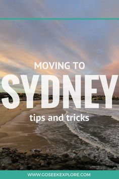 What's it like to move to Sydney, Australia? This post has all the helpful tips, tricks, and things you MUST know before moving to Sydney! Moving To Australia, Visit Australia, Sydney Australia, Western Australia, Australia Travel, Perth, Brisbane, Melbourne, Work Travel