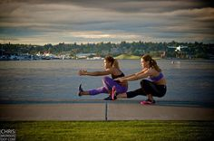 Interview with Jennifer and Kaisa of @TwoBadBodies (BAD = Beautiful Athletic Duo) in Seattle Refined is featuring a photo from my shoot with them.