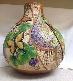 Beautiful Gourd art by Sue Haberer