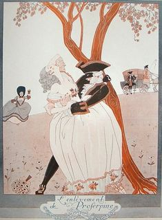 The Highwayman by George Barbier