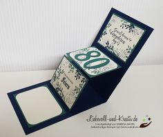 Stampin Up Karten, Decorative Boxes, Fancy, Popup, Stamping, Blog, Cards, Tutorials, Summer