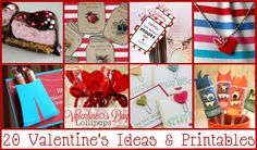 20 Valentine's Ideas & Printables from Angie Knutson #ChiquitaMoms #DoubleDutyDivas