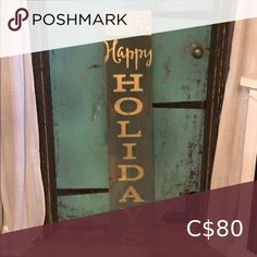 Happy holidays sparkle door board Happy holidays sparkle door board Accents Decor Home Accents, Happy Holidays, Accent Decor, Congratulations, Boards, Sparkle, Closet, Things To Sell, Home Decor