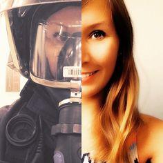 """Guten Morgen ihr Helden✌️ #firefighter #firehero #firefightergirl #firefighting #firemedic #paramedic #firedepartement #feuerwehrfrau #AGT #atemschutz…"""