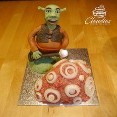 Shrek Mett Torte | Shrek Minced Meat Cake