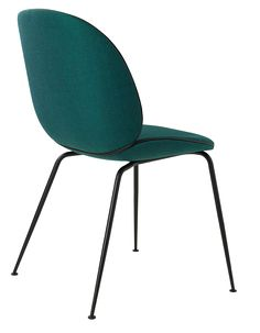 Beetle Chair fully upholstered with Canv - Gubi