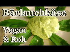 Vegan + Rohkost: Fantastischer Bärlauch Käse - der beste Streichkäse überhaupt! - YouTube