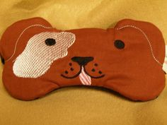 Embroidered Eye Mask for Sleeping Cute Sleep by MadeByMeEmbroidery