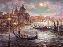 Büyük Kanal Venedik duvar