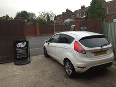 2015 Ford Fiesta in this morning for 18% Carbon tints to the rear.