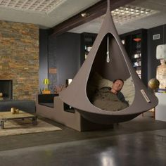Lifestyle & Casa - Poltrona Sospesa Cacoon - Tenda da campeggio, amaca…