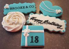 Breakfast At Tiffany's - Cookies - Tiffany and Co - Public Display of Confection