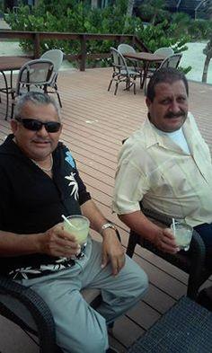 Puerto Morelos beach bar scene
