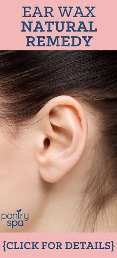 This remedy is great for removing ear wax, and simply just cleaning your ears. It reaches what dangerous Q-tips cannot.