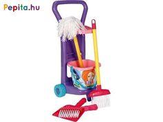 Húzós kocsi - takarítós szett seprővel 10774 Toothbrush Holder