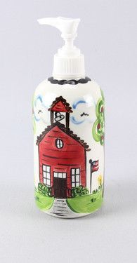 Old School House Lotion Dispenser - Set Of 2