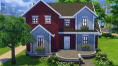 HTBIAS starter home. Bottom floor is furnished. Fixer upper coming soon💕 Sims 3, Sims 4 Ps4, Sims 4 Game, Sims 4 House Building, Sims House Plans, Sims 4 Family House, Sims 4 House Design, Casas The Sims 4, Sims 4 Cc Packs