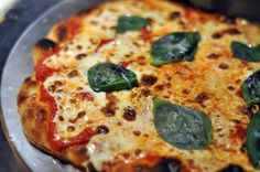 Margherita Pizza, No-Knead Way by Jim Lahey from his new book