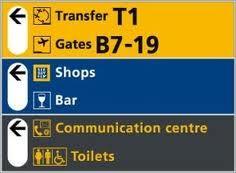 wegbewijzering vliegvelden - Google Search