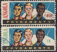 Angola #RA17-RA18 Used - bidStart (item 44949444 in Stamps, Europe... Portuguese Colonies)