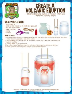 Volcano Activity - Animal Jam Academy