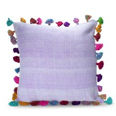 Lucas Pom Pom Tassel Pillow. Love it!
