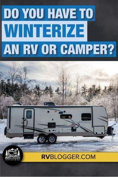 If you are a seasonal RVer, you need to prepare your RV for harsh winter months. Costly damage can be done to your RVs plumbing and appliances, like water heater and RV water pump, when temperatures drop below freezing. This article is full of great DIY RV winterizing tips and an online video training course to help you learn how to winterize your RV. #rvblogger #winterizerv #rveducation101 #rvtips #campertips #rvmaintenance #rvantifreeze #rvtraining #rvcourses Rv Camping, Camping Hacks, Diy Rv, Fresh Water Tank, Rv Tips, Rv Hacks, Online Video, Rv Travel, Rv Living