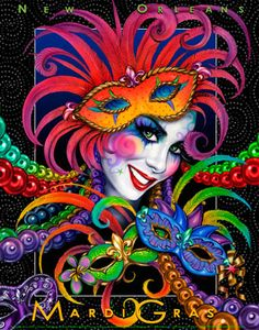 Mardi Gras, New Orleans...I've been to NOLA but never during Mardi Gras...