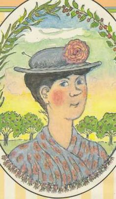 Mary Shepard's original illustration for Mary Poppins