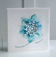 Good Free 20 Most Popular and Thoughtful Christmas Card Ideas Strategies hris… – Christmas DIY Holiday Cards Diy Christmas Snowflakes, Snowflake Cards, Christmas Card Crafts, Homemade Christmas Cards, Christmas Cards To Make, Homemade Cards, Christmas Decorations, Christmas Tree, Christmas Movies