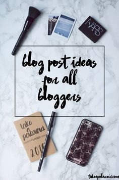 Post ideas for lifestyle bloggers