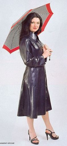 Mai 2015. Fantastic latex coat!