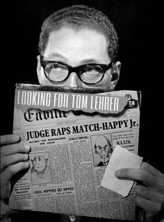 Looking For Tom Lehrer, Comedy's Mysterious Genius... While the article is not funny, Lehrer's gift is.
