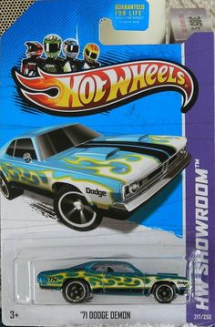 "Hot Wheels 2013 ""Secret"" Super Treasure Hunt '71 Dodge Demon!!! Mint Diecast!!"