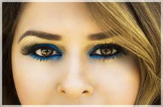 another eye makeup by kairos beauty salon  kairos beuaty salon is located in San Diego CA, in Broadway Chula Vista comment for any futher information