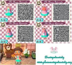 Animal Crossing ACNL QR code Pet Society Marie Antoinette
