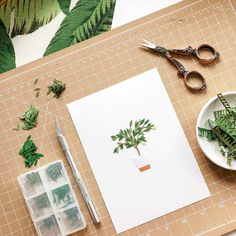 Russian Artist Creates Intricate Paper Plants Without Using Scissors Origami Templates, Box Templates, Cut Paper Illustration, Cut Out Art, Paper Plants, Panda Art, Paper Artwork, Paper Artist, Mail Art