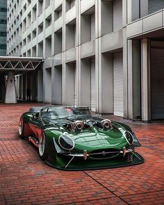Jaguar E-Type mit Twin Turbo – Cars and Bikes – Super Autos Jaguar E Type, Sexy Cars, Hot Cars, Car Tuning, Modified Cars, Amazing Cars, Awesome, Car Car, Custom Cars