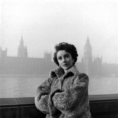 Not originally published in LIFE. Liz Taylor, London, 1948.