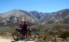 Stunning landscapes are awaiting you on the South Island Mountain Bike Adventure