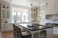 Best Celebrity Kitchens White Kitchen With Marble
