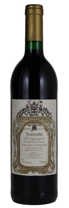 2001 Travicello Vallagarina IGT-This is an excellent wine, I have 1 bottle left.  Must order through a wine broker.